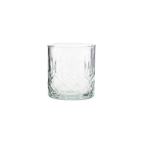 Whiskey Tumbler, Glas im Vintage Look