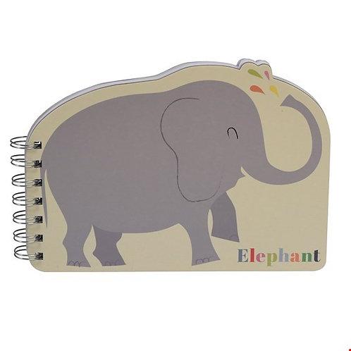 "Spiral-Notizbuch ""Elefant"""