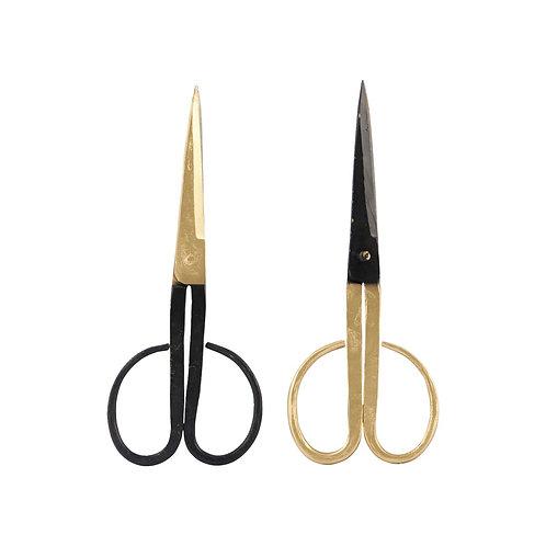 Schwarze-goldene Schere