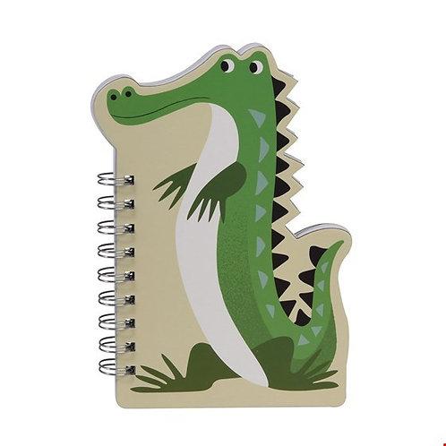 "Spiral-Notizbuch ""Krokodil"""