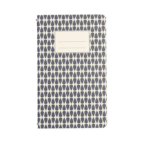 Kleines blaues Notizbuch A6