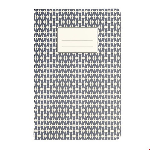 Großes blaues Notizbuch A5