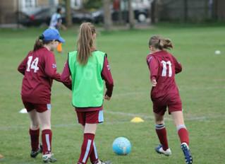 New Girls Under 9 team