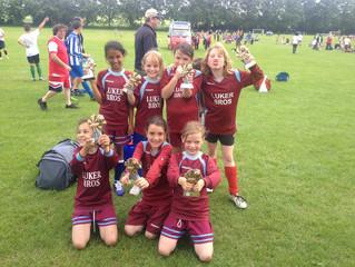 U10 Girls: A trophy already!