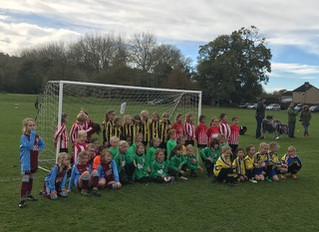 OMGFL U8s Girls Football Festival