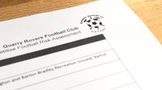 COVID-19: See our Return to Competitive Football Risk Assessment – Season 2020-202