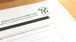 29 March update – COVID-19: See our Return to Competitive Football Risk Assessment