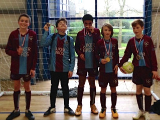 TNT U13 lose Cup Final but win Plate at Feb Futsal Tournament