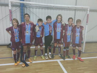 Quarry TNT U13 win Xmas Futsal Tournament