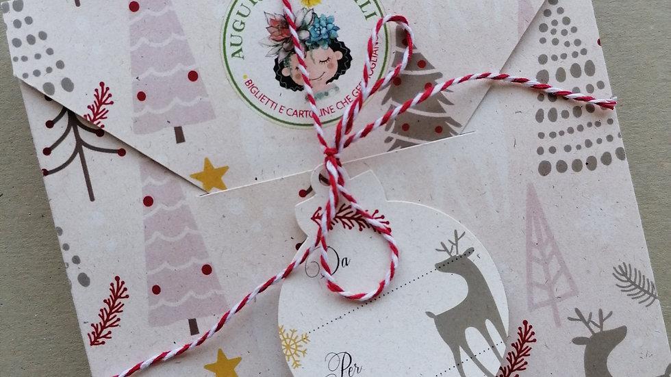 Confezione regalo per addobbi e cartoline