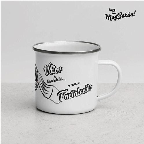 Enamel Mug • Printed in the USA