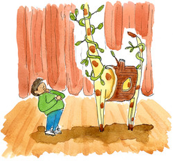 tree in school play panel 2 COLOR