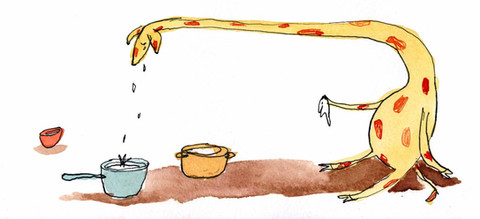 From debut picture book GERALDINE