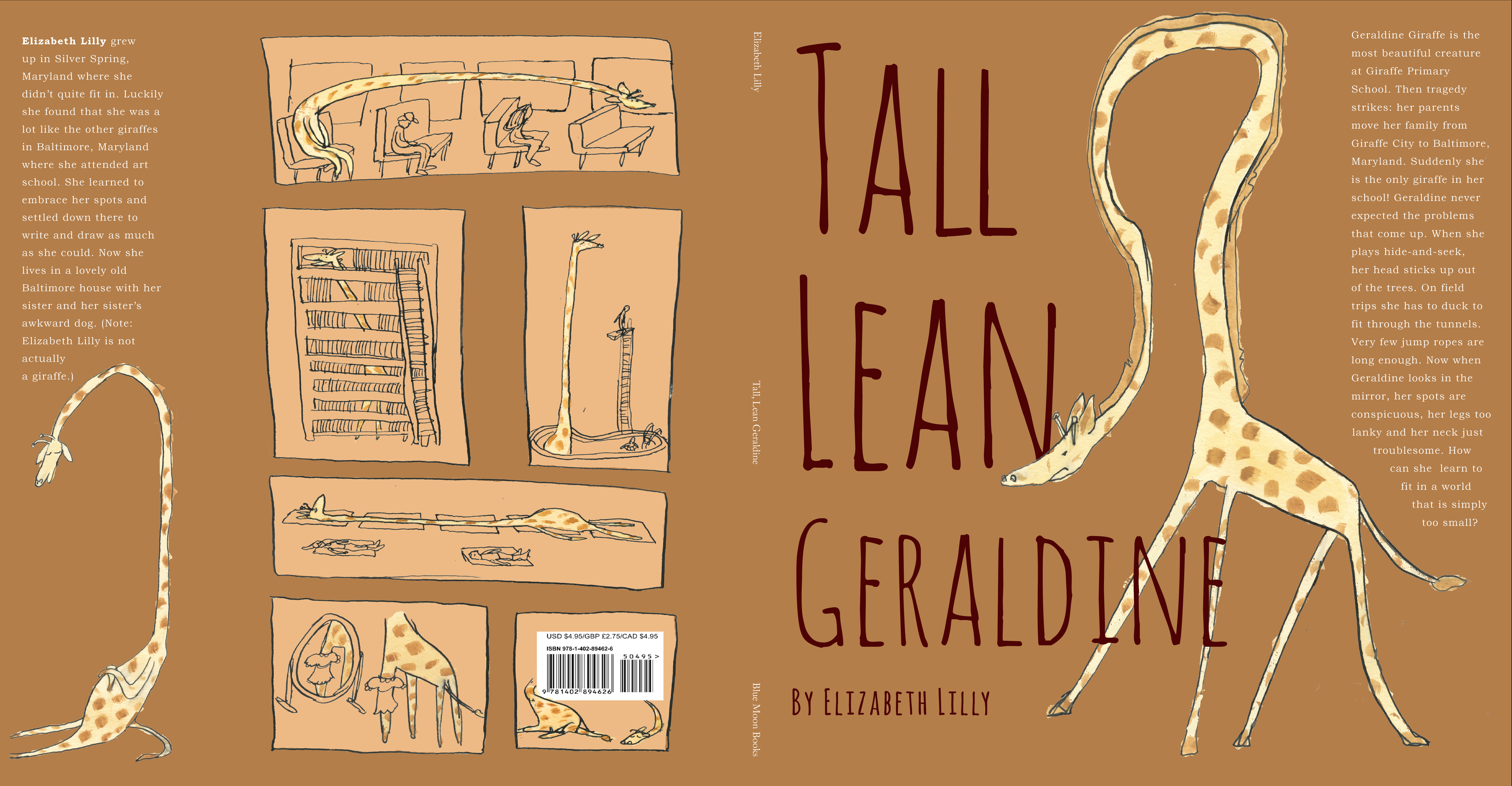 GERALDINE Picture Book Early-Draft Cover