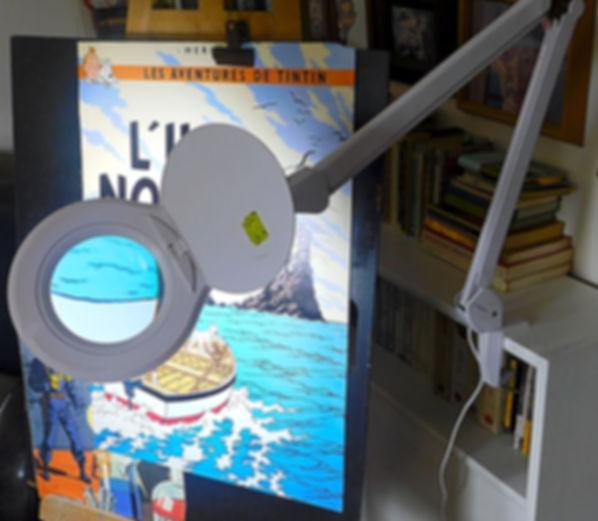 Cathy et ses outils.  Lampes loupes SDM  LED nouvelle génération. Éclairage lumière du jour sans ombre ni reflet. Restitue parfaitement la lumière naturelle, (lumière du jour de 6500 K) Économie  d'énergie grâce aux SMD LED nouvelle génération :  Forte luminosité pour une consommation dérisoire.  En moyenne 18 watts pour une intensité lumineuse de 800 Lumen  Idéal pour les travaux de précisions :  Les loisirs créatifs, la broderie, le modélisme, le bricolage, l'électronique, l'impression 3D Ainsi que pour les soins du corps : La pédicure, l'épilation, le maquillage, les tatouages ou tout simplement pour ôter les échardes. Pour la lecture lorsque la vue commence à baisser. Presbytie, DMLA