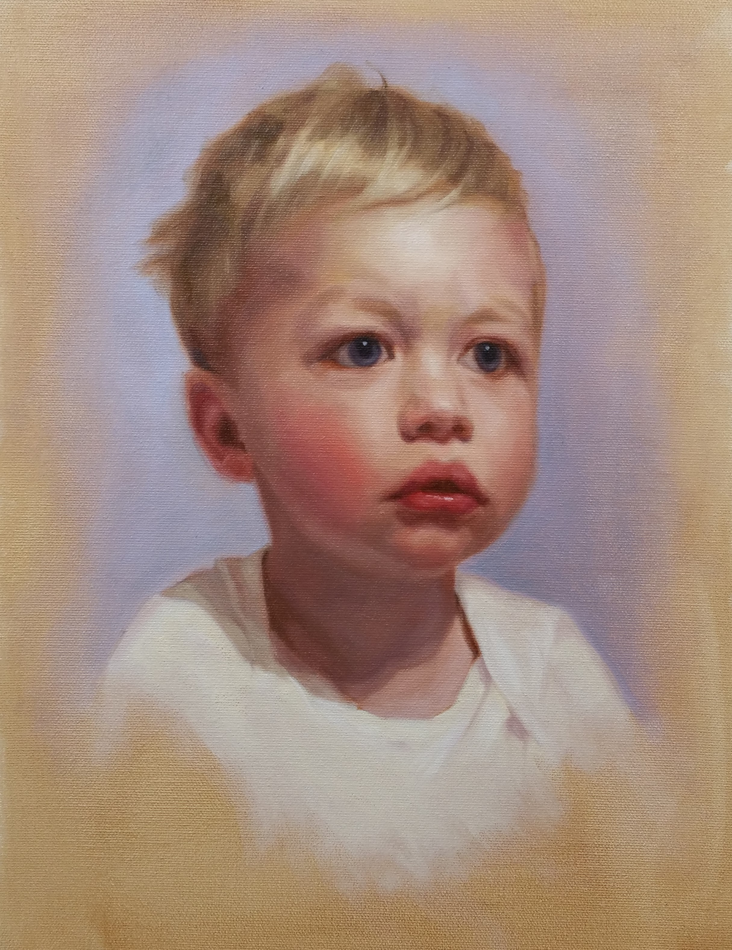 """Theo"", oil on canvas, 30x40cm,SOLD"