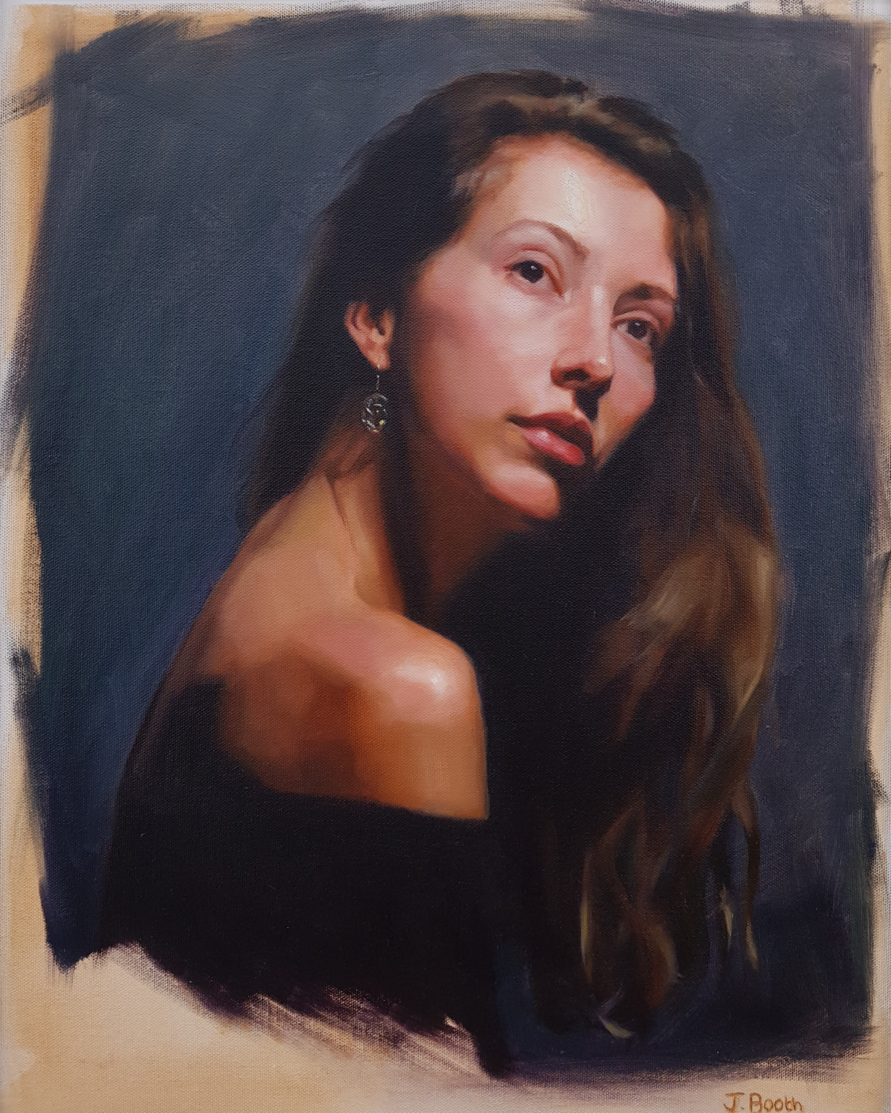 """Jasmine"", oil on canvas, 40x50cm"