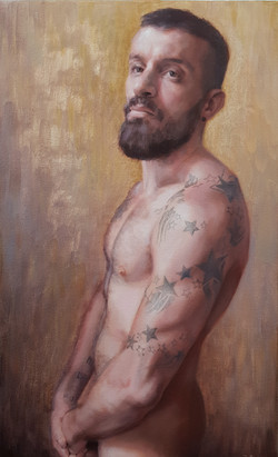 Strength and vulnerability_oil on canvas_40x65cm