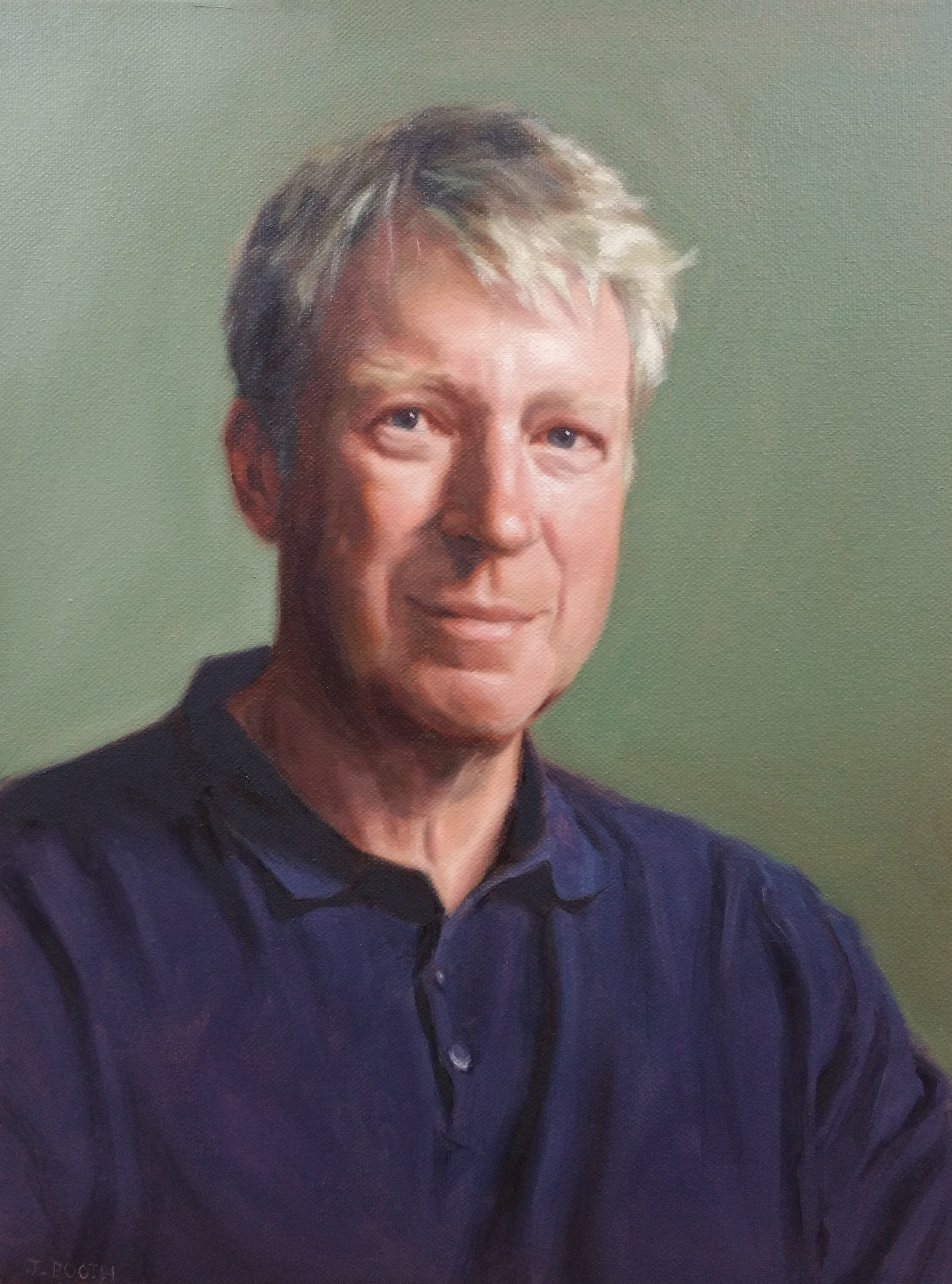 """Kieron"", oil on canvas,30x40cm, SOLD"