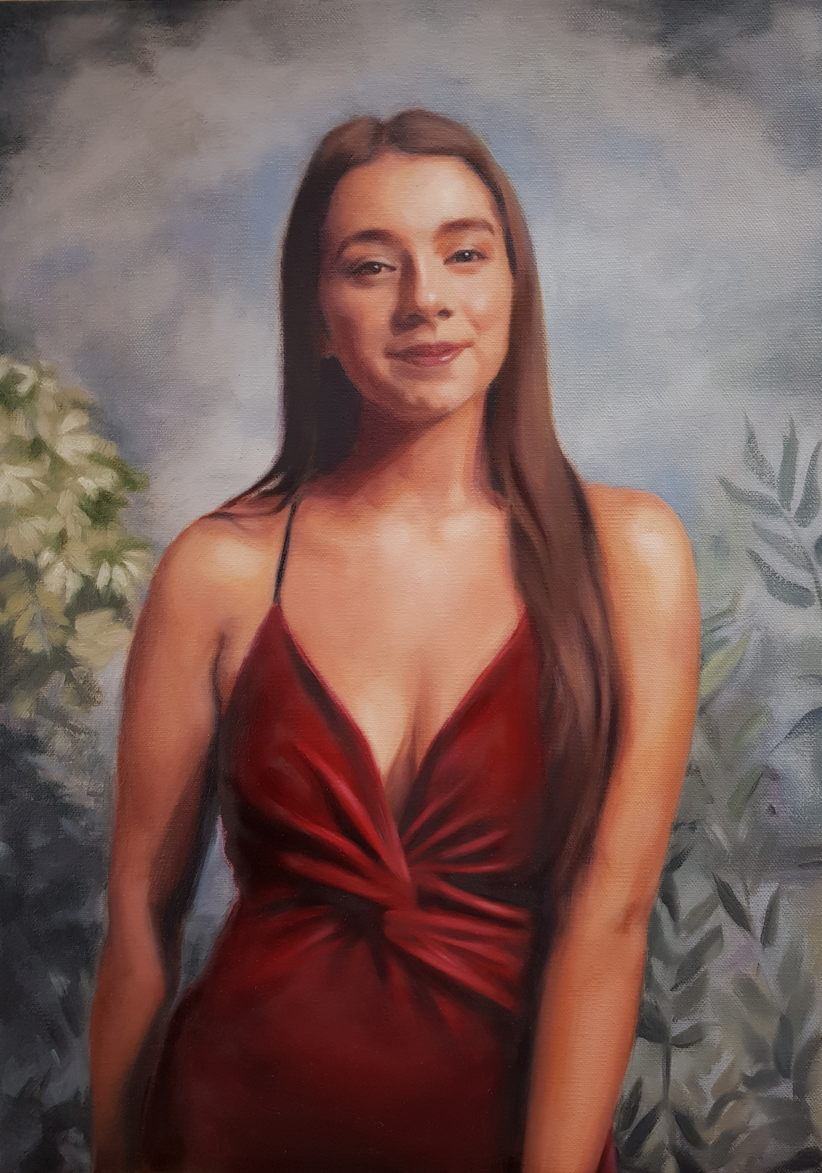 """Lucy"",_oil on canvas, 42x60cm, SOLD"