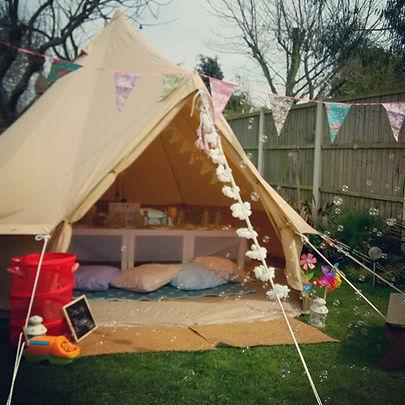 #bubblybelltents #belltents #Essex #unicornparties #summer #birthdayparties