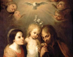 Holy Family of Jesus, Mary and Joseph
