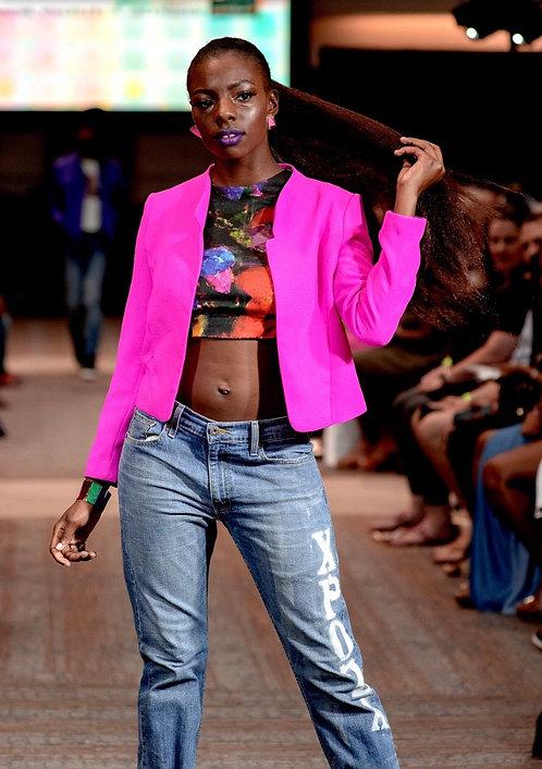 Hot Pink Vintage Blazer