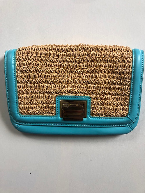 Talbots Woven Clutch