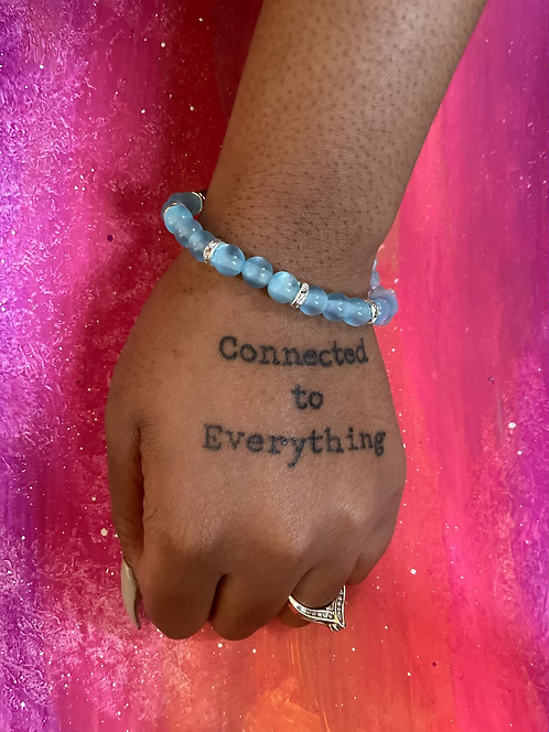 Celestite Crystal Bracelet