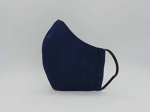 Reusable face mask Plain navy