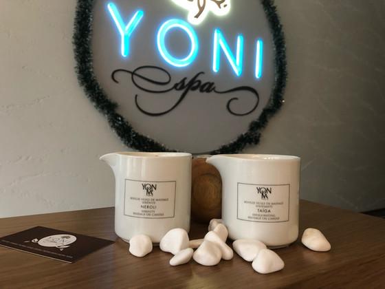 Масаж с ароматна свещ Yon-Ka
