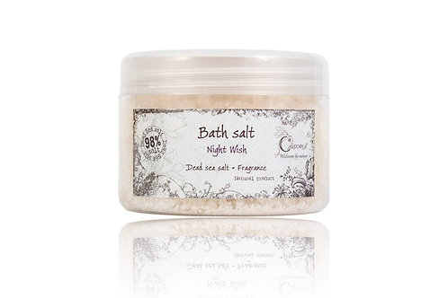 Dead Sea Bath Salt NIGHT WISH