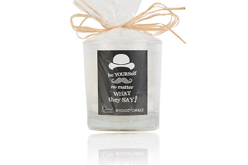 Handmade Aroma candle in glass MOODY