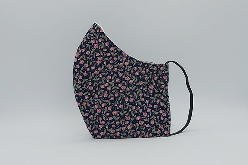 Face mask FALLING BUDS NAVY