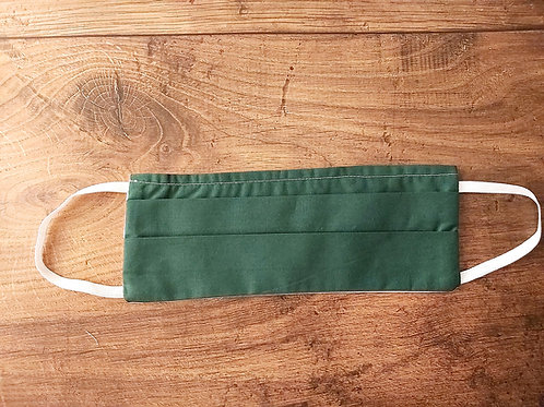 Reusable face mask GREEN, dust mask, fabric mask