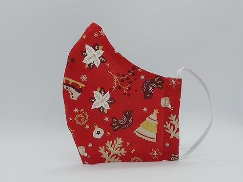 Reusable face mask Christmas skates in red.jpg