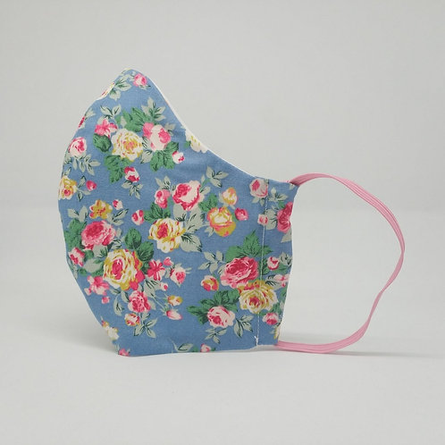 Reusable face mask ROSES, dust mask, fabric mask, fabric mask