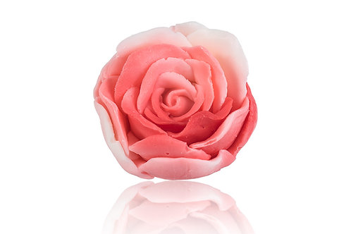 Natural handmade soap with the shape of ROSE