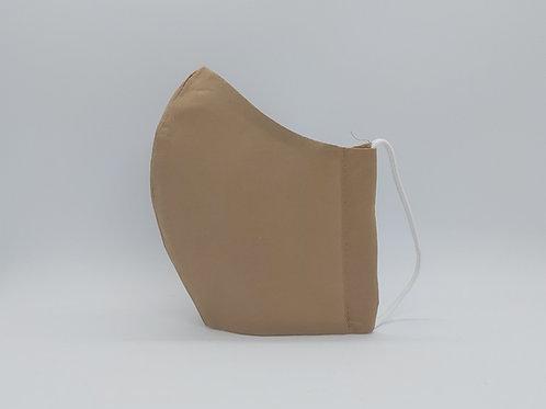 Reusable face mask Plain beige