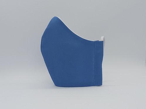 Reusable face mask Plain blue