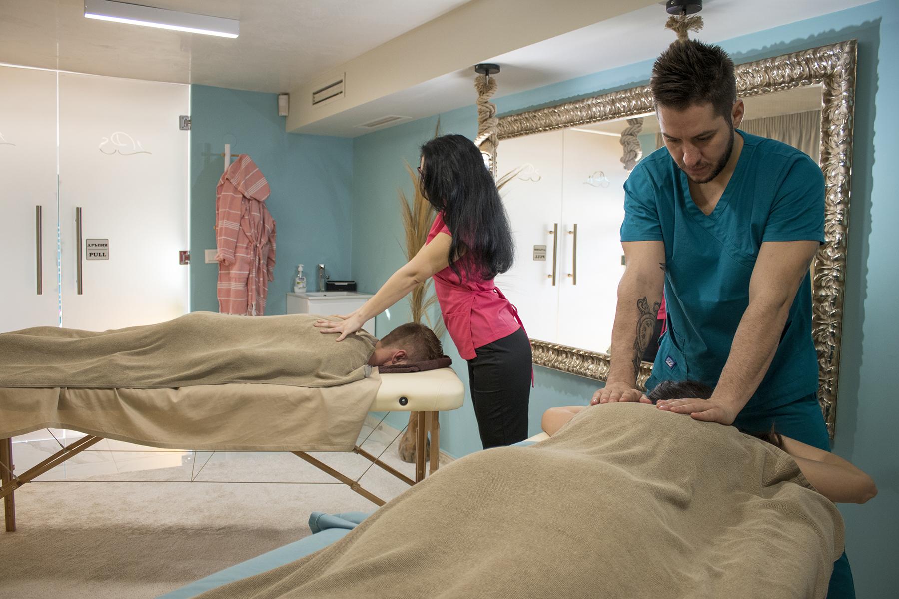 YONI SPA двоен масаж