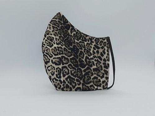 Face mask snow leopard