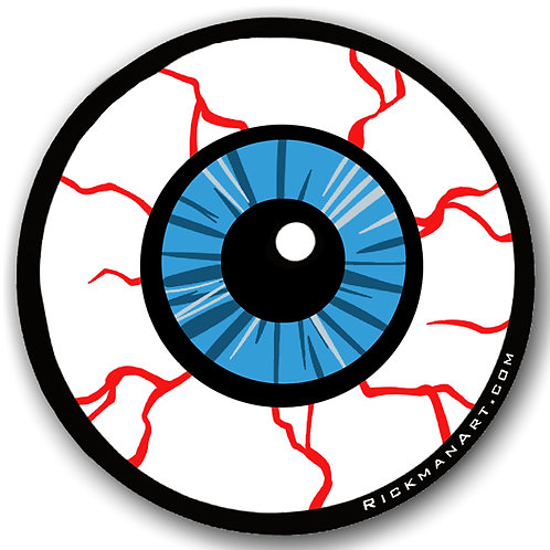 "Eyeball 3"" Vinyl Sticker"
