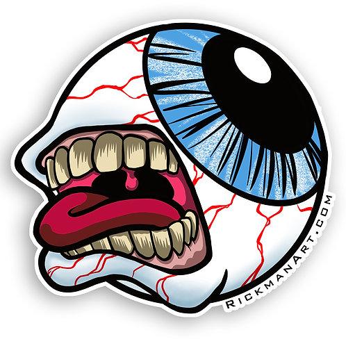 """Eye Scream 3"""" Vinyl Sticker"""