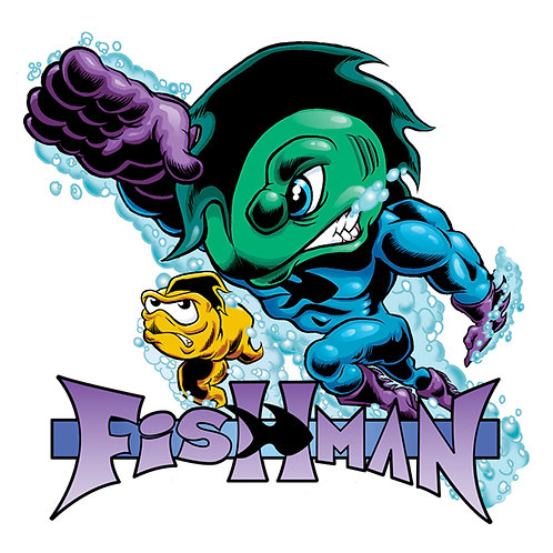 "Fishman  3"" Vinyl Sticker"