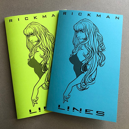 Lines: Rickman Sketchbook 2019 - ADULTS ONLY