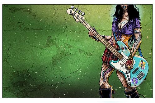 "Fender Grl 11"" x 17"" Print"