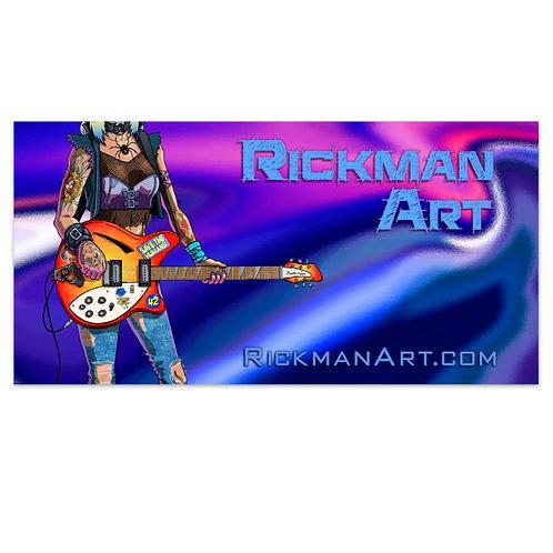 RickmanArt Vinyl Bumper Sticker