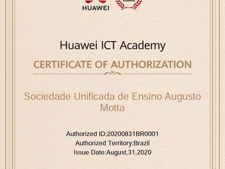 UNISUAM recebe certificação de membro da Huawei ICT Academy