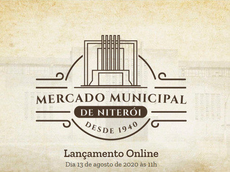 Você é nosso convidado para o lançamento comercial do Mercado Municipal de Niterói.